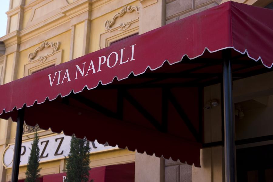 Via Napoli Signage