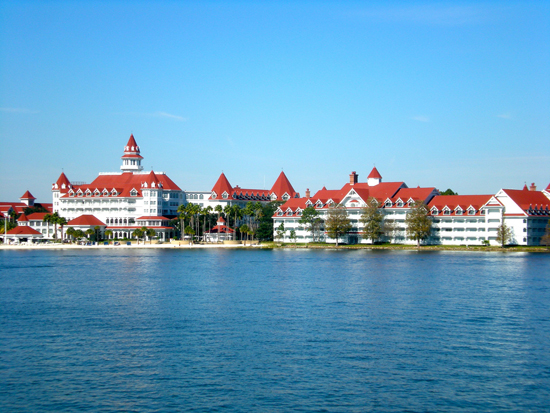 A view of Disney's Grand Floridian Resort & Spa