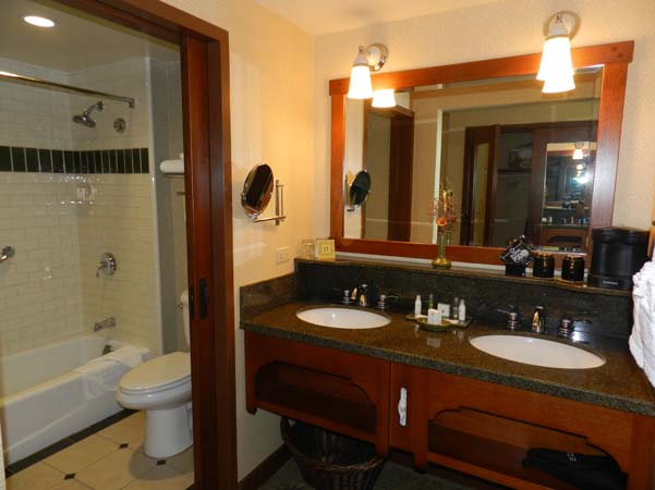 Grand Californian Hotel Room Bathroom Sinks