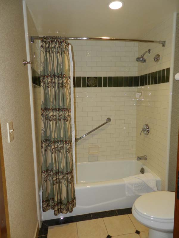 Grand Californian Hotel Room Shower