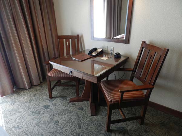 Grand Californian Hotel Room Desk