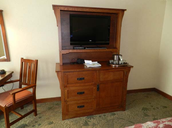 Grand Californian Hotel Room Cabinet
