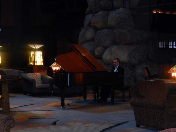 Grand Californian Hotel Lobby Piano Player