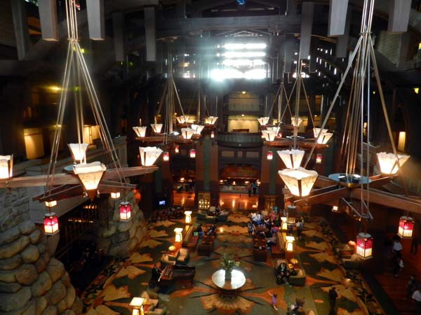 Grand Californian Hotel Lobby