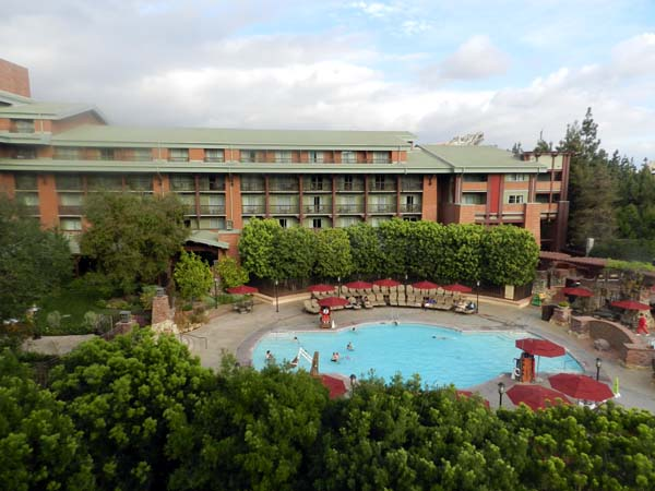 Grand Californian Hotel Pool 1