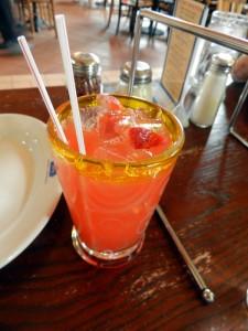 Strawberry Acqua Fresca