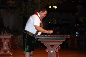 German Man Playing Instrument