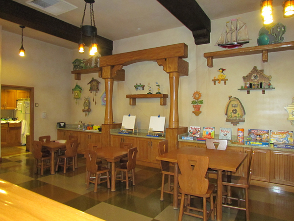 Grand Californian Hotel Pinocchio's Workshop Interior