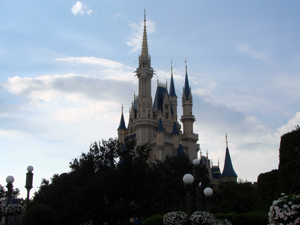 Cinderella Castle at Walt Disney World's Magic Kingdom Park