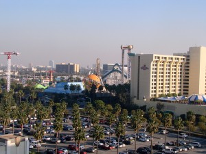 View from Disneyland Hotel room