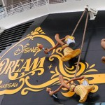 Disney Cruise Line - Mickey Mouse as the Sorcerer's Apprentice relaxes on the Disney Dream.
