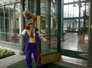 Doorman at Disney's Port Orleans Resort - French Quarter
