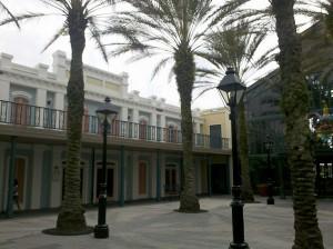 Exterior of rooms at Disney's Port Orleans Resort - French Quarter