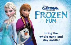 Frozen Fun at Disneyland