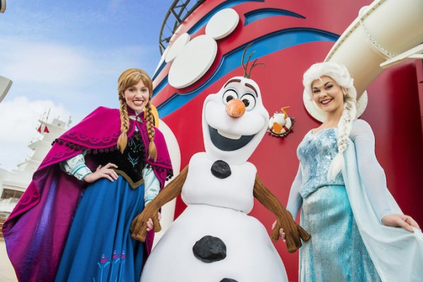 Frozen on Disney Cruise Line
