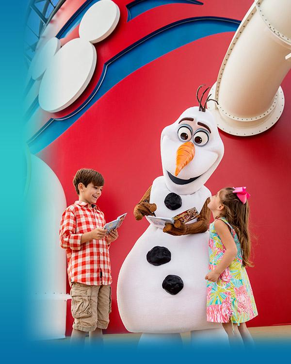 Frozen on Disney Cruise Line