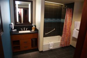 Polynesian DVC Villas Deluxe Studio Room Full Bathroom