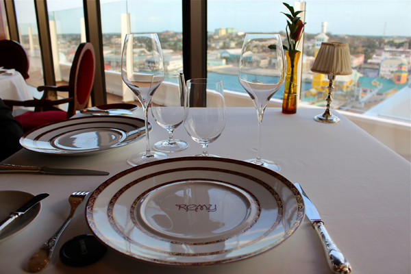 Table Setting at Remy