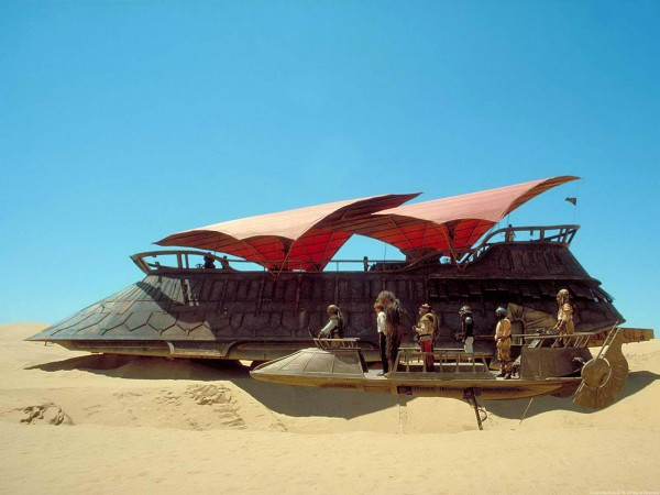 Star Wars on Disney Cruise Line - Jabba's Sail Barge has nothing on the Disney Fantasy