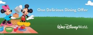 Disney World Free Dining 2015