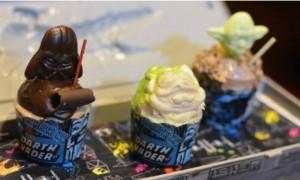 Rebel Hangar Food - Mini Cupcake Trio