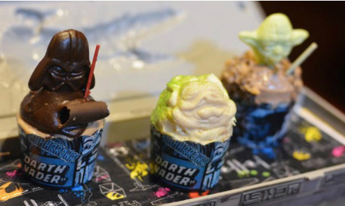 Rebel Hangar Food - Mini Cupcake Trio