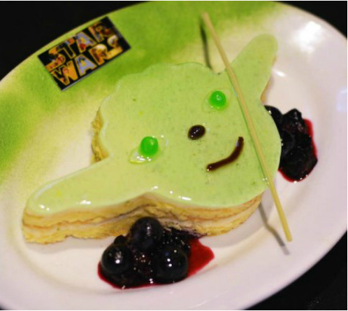 Rebel Hangar Food - Yoda Key Lime Pie