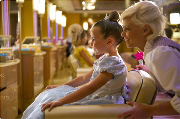Bibbidi Bobbidi Boutique on the Disney Magic 1