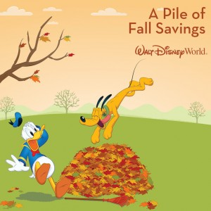 Fall 2015 Discount for Walt Disney World