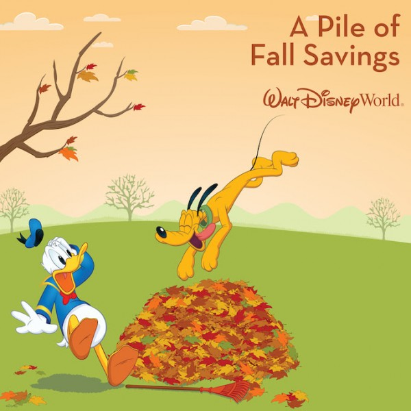 Fall 2015 Discount for Walt Disney World
