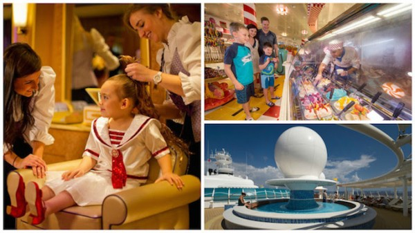 New Spaces on the Disney Dream