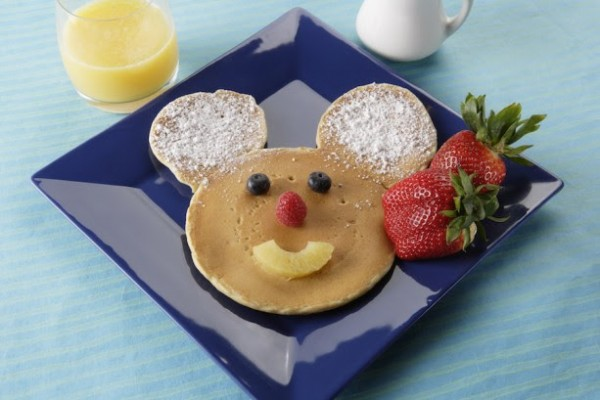 Mickey Mouse Pancake