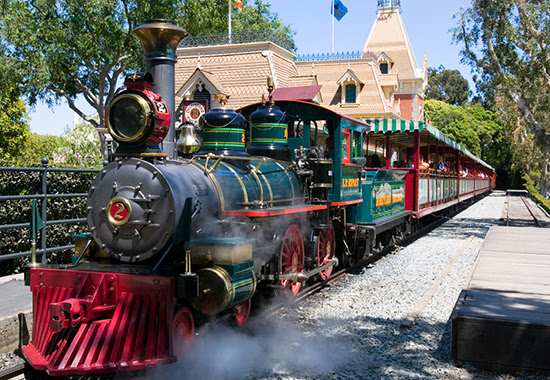 Disneyland Steam Train