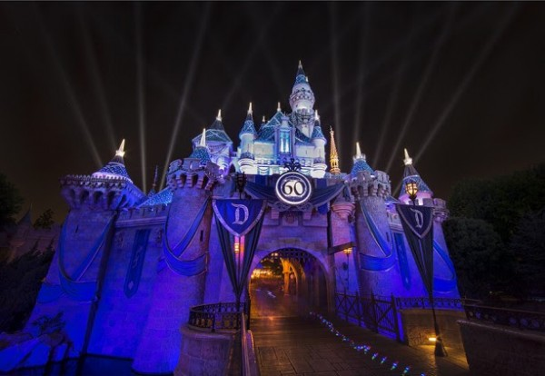 Visit Disney for Sleeping Beauty Castle during the Disneyland Diamond Celebration