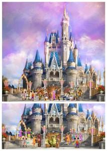 Disney World Castle Show