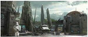 Star Wars Land Concept Art 3