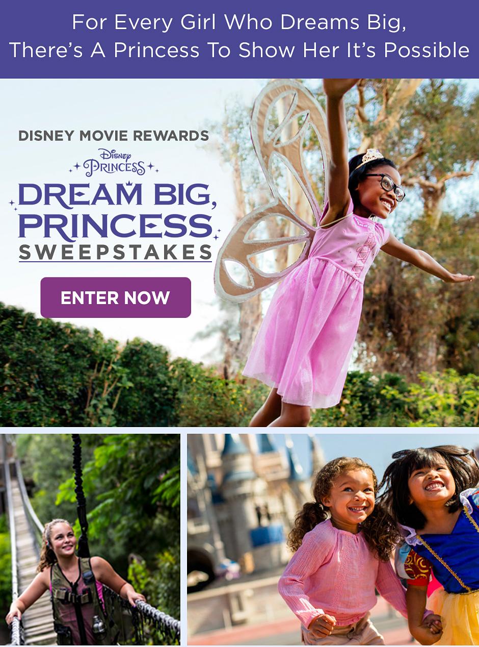 Dream Big Princess Sweepstakes