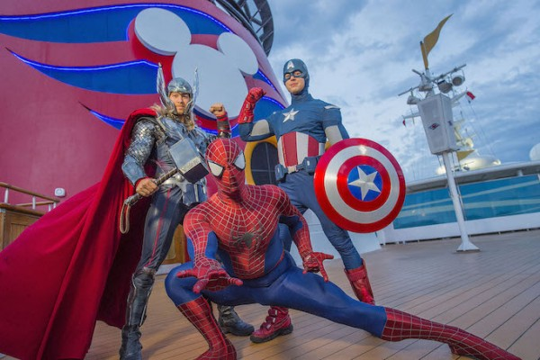 Disney Cruise Marvel Day at Sea