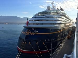 Disney Wonder docked