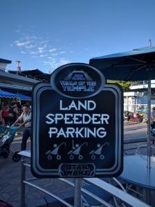 Season of the Force Landspeeder Parking