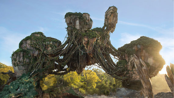 Pandora - The World of Avatar Floating Islands