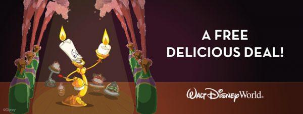 Disney Free Dining 2017