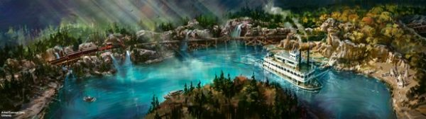 Rivers of America Rendering