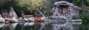 Rivers of America Indian Village