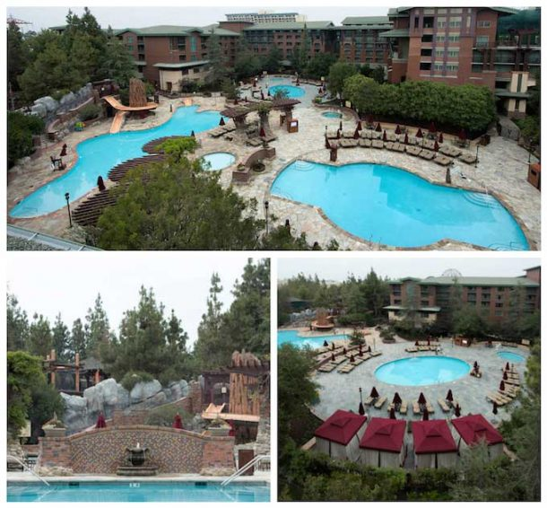 Grand Californian Pool Update