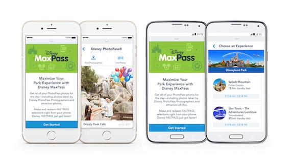 MaxPass at Disneyland