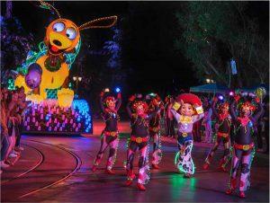 Pixar Fest Paint the Night Parade