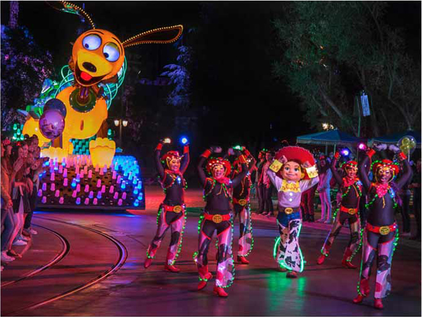 Pixar Fest Paint the Night Parade