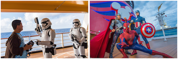 Star Wars Day at Sea 2019 Marvel Day at Sea 2019