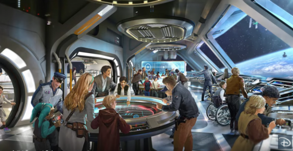 Star Wars Resort at Walt Disney World - Concept Art
